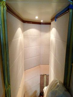 habillage mural cage d 39 escalier menuiserie twins refit la ciotat. Black Bedroom Furniture Sets. Home Design Ideas